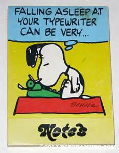 snoopy afalling asleep at typewriter, InSide Out,Inside the forbidden outside,Jamie Cummings,Sonni quick, Jpay,write letters to Jamie
