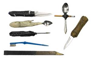 shank,prison knives,prison weapons,homemade knife