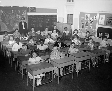 60's school classroom