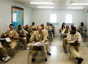 inmate education, prison classroom,