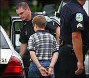 kids in handcuff