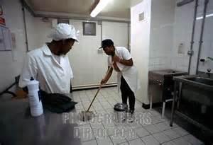 prison jobs, prison janitor