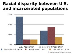 Race disparity in prison