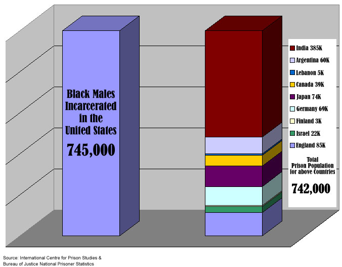 race graph in prison