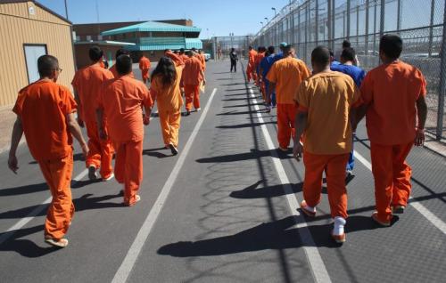 illegal immigrant inmates, prison inmates