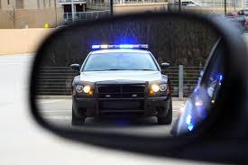 cop in mirror