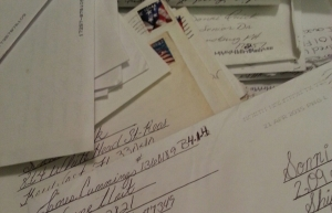 Jamie's letters