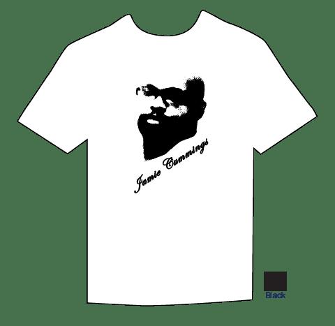 White t- shirt proof